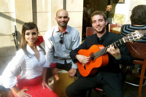 Flamenco Guitarists Trio with Dancers Dublin