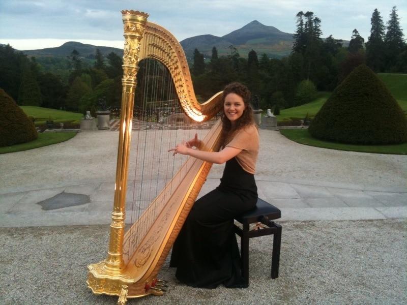 Irish Harpist Drinks Reception Entertainment Options