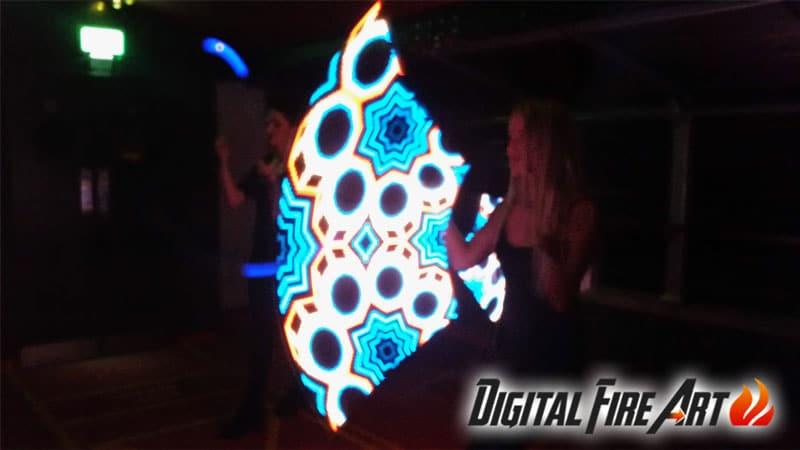 Digital Fire Art with www.drinksreceptionmusic.ie