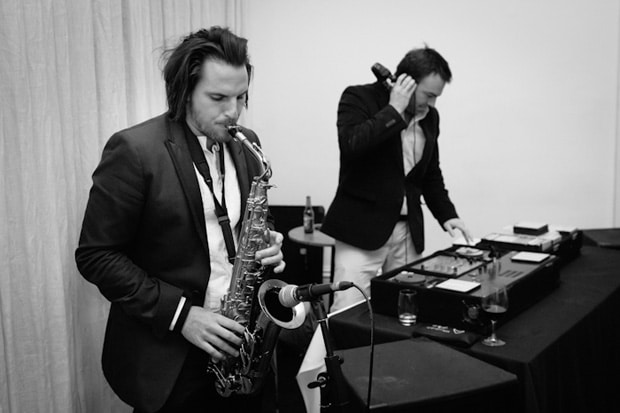 DJ & Saxophone Player for hire in Ireland with Drinks Reception Music, ie