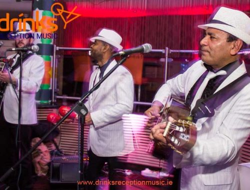 Havana Club Trio Drinks Reception Walkabout