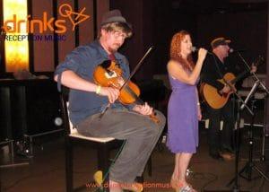 Celtic Factor Trad Band Wedding Drinks reception music