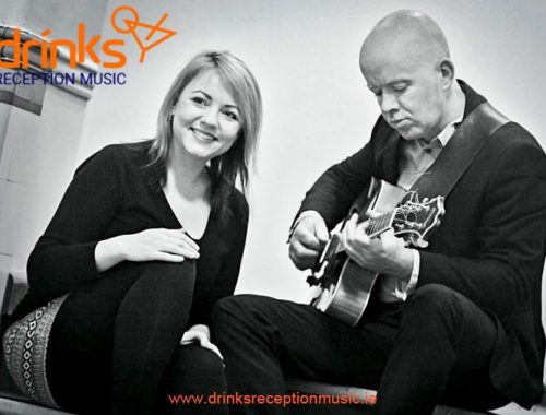 Jazzy Duo Jazz Drinks Reception Music