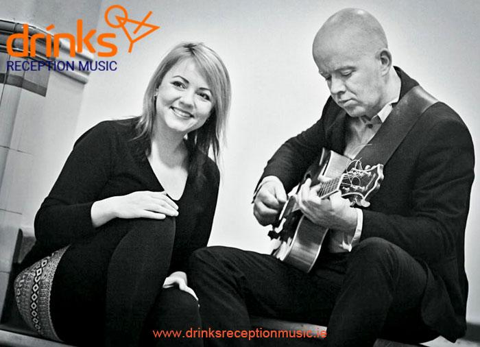 Jazzy Duo Jazz Drinks Reception Music