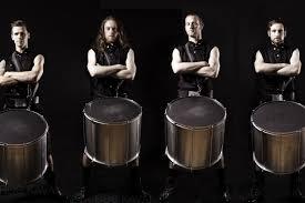 celtic drummers trad music drinks reception wedding
