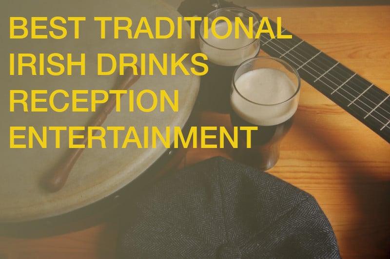 Trad drinks reception entertainment music wedding corporate event